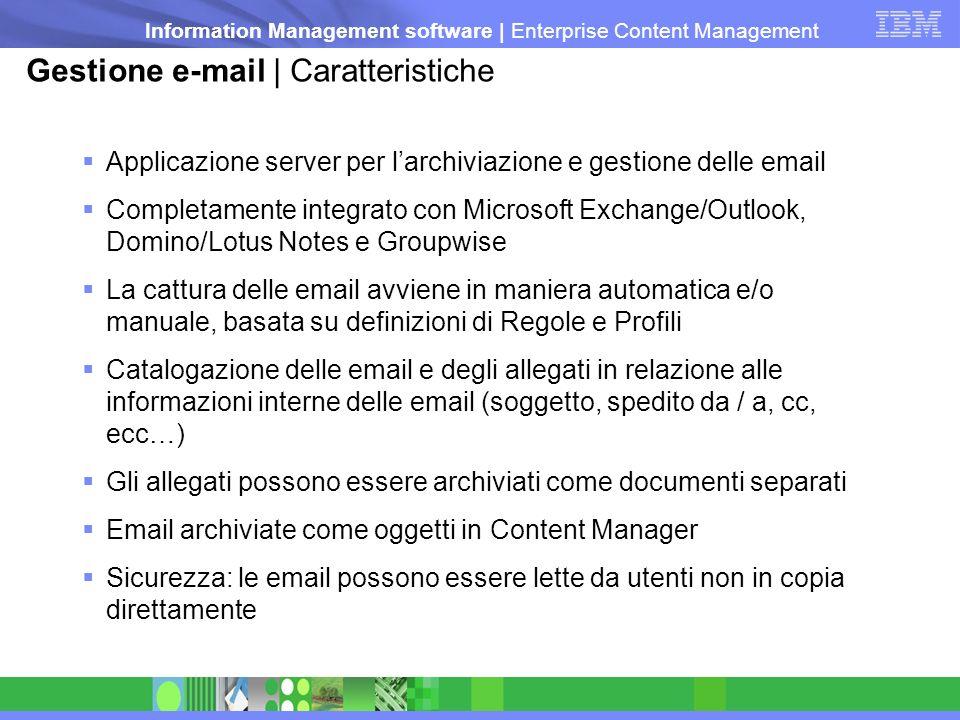 Gestione e-mail | Caratteristiche