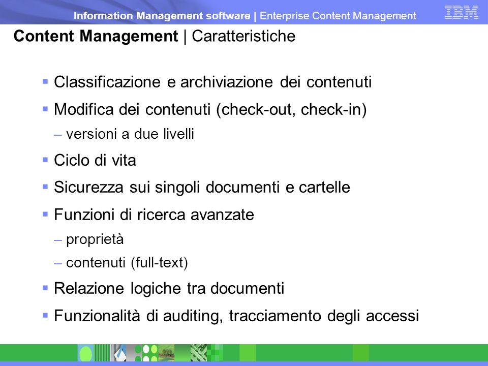 Content Management | Caratteristiche