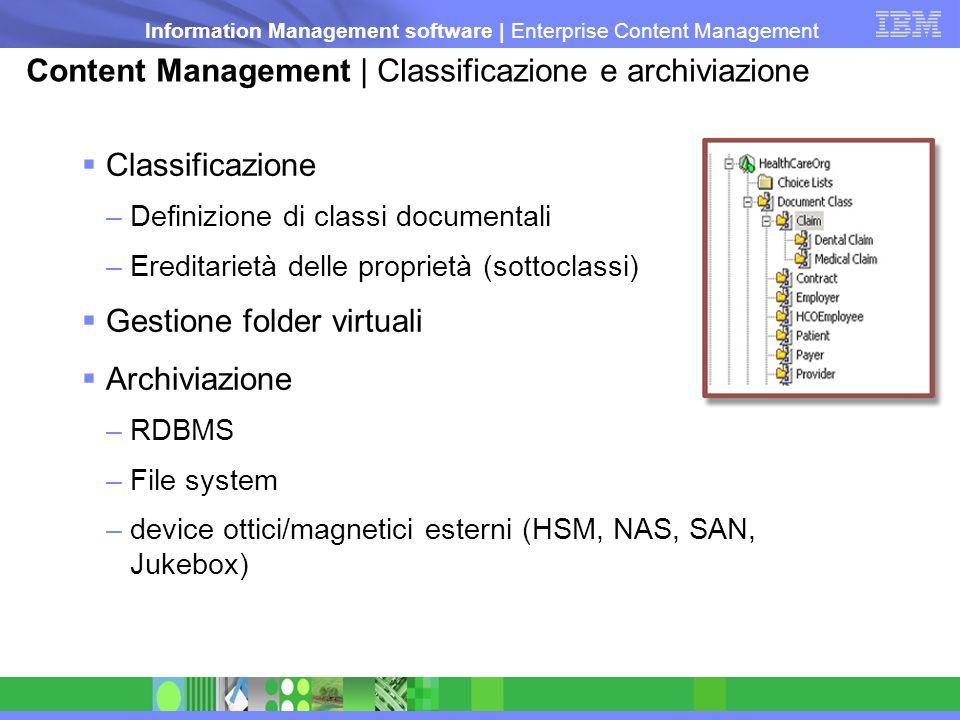 Content Management | Classificazione e archiviazione