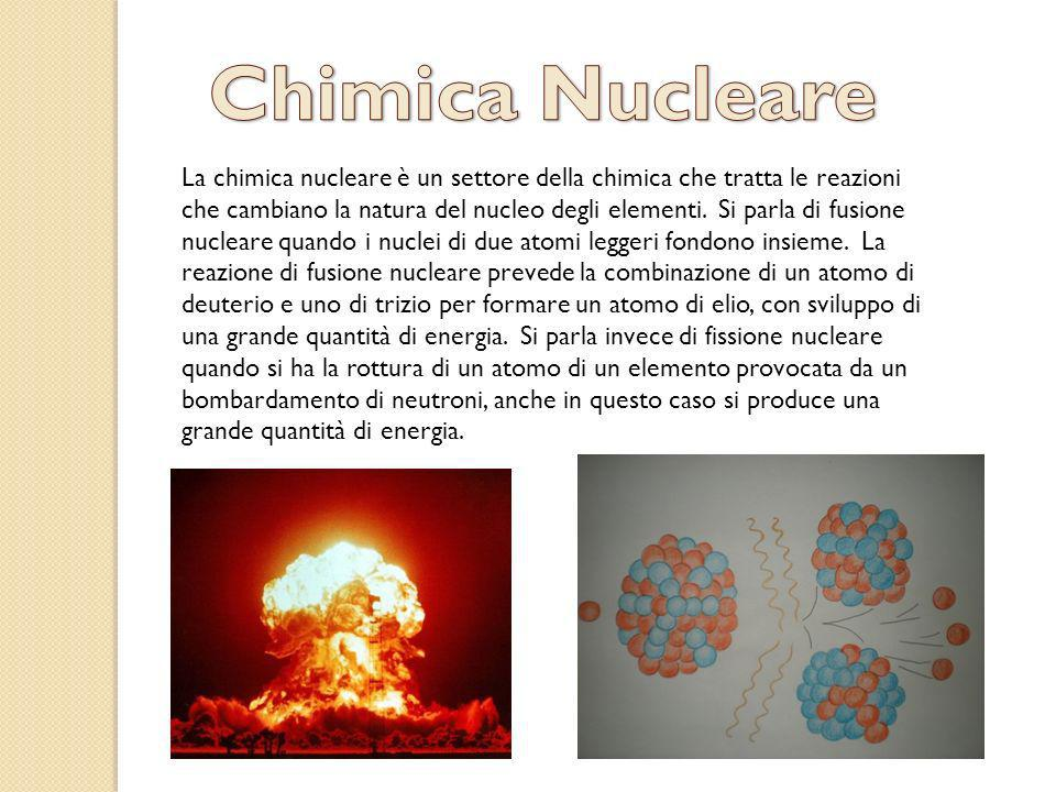 Chimica Nucleare