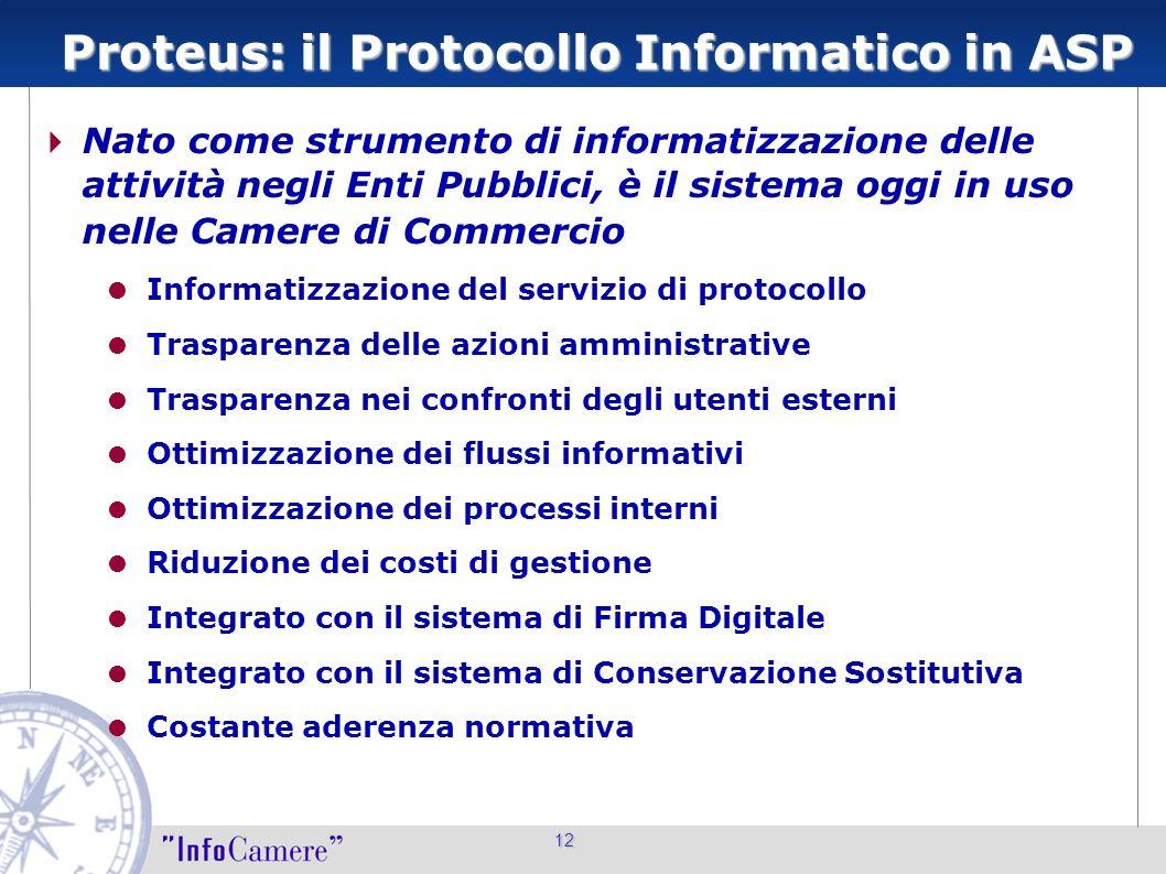 Proteus: il Protocollo Informatico in ASP