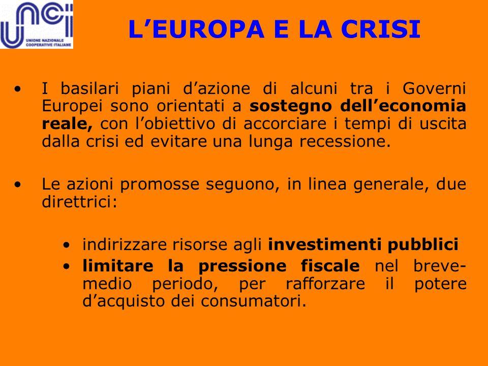 L'EUROPA E LA CRISI