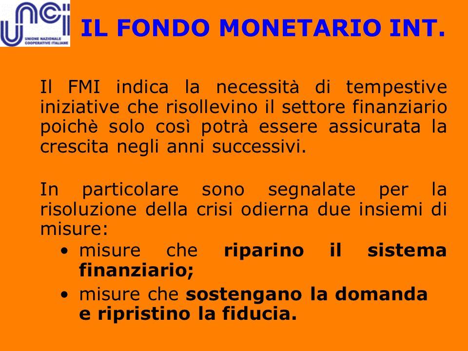 IL FONDO MONETARIO INT.