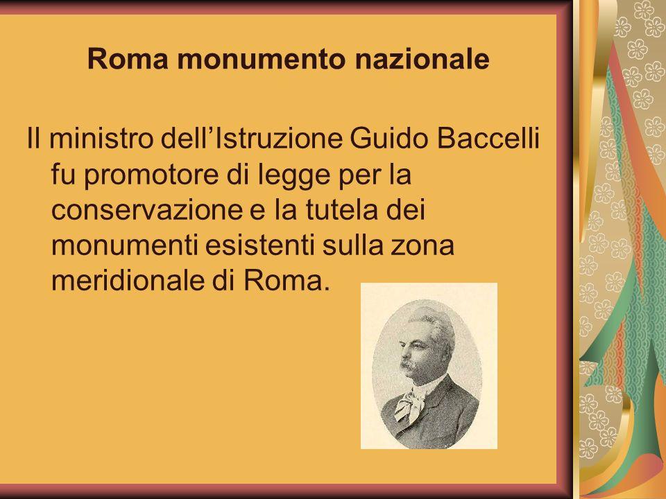Roma monumento nazionale