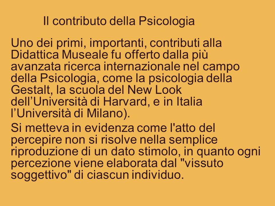 Il contributo della Psicologia