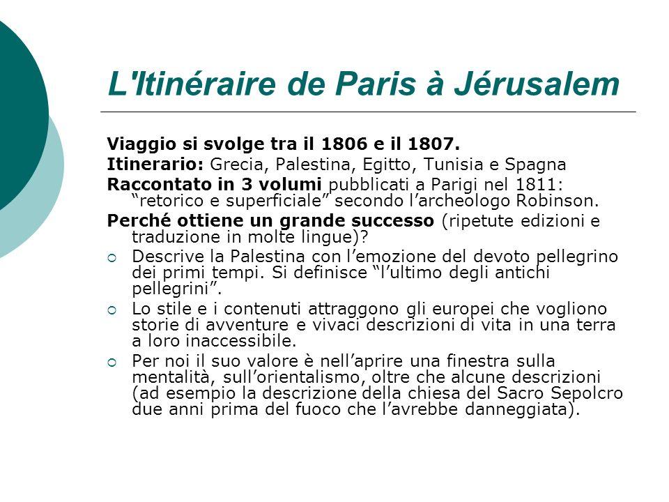 L Itinéraire de Paris à Jérusalem
