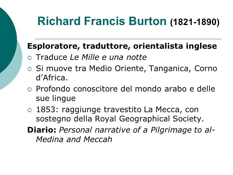 Richard Francis Burton (1821-1890)