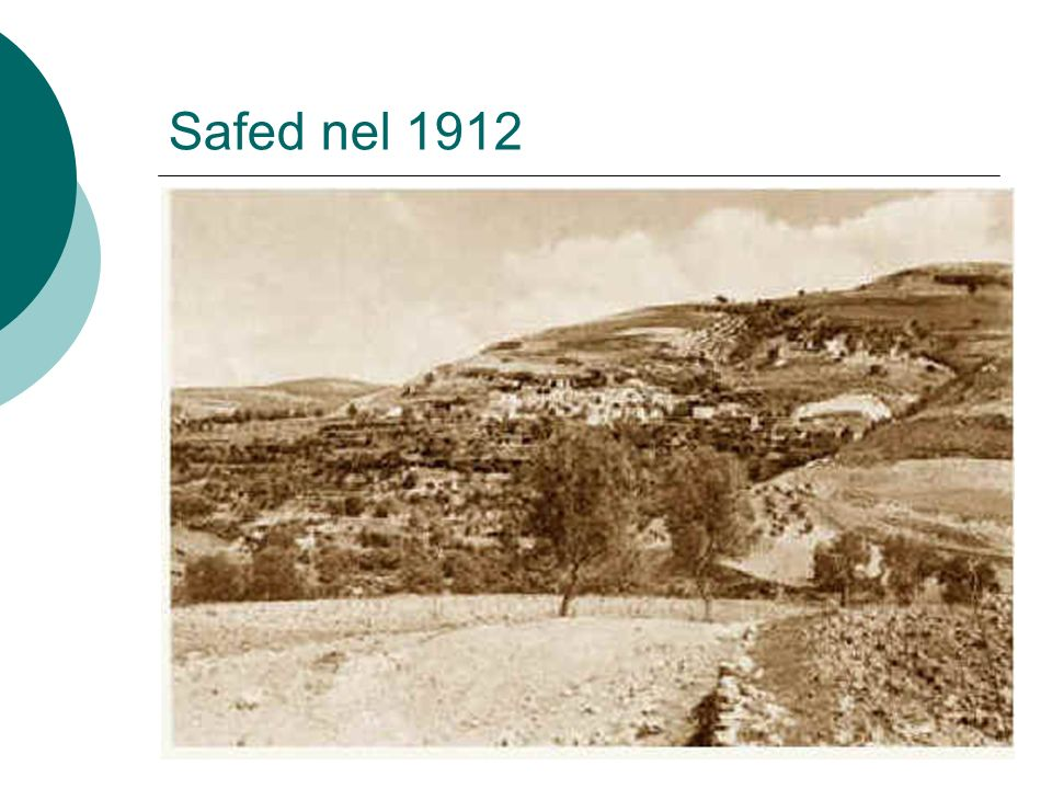 Safed nel 1912