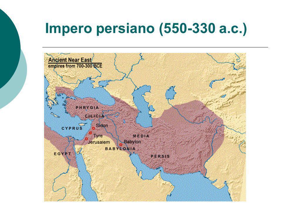 Impero persiano (550-330 a.c.)