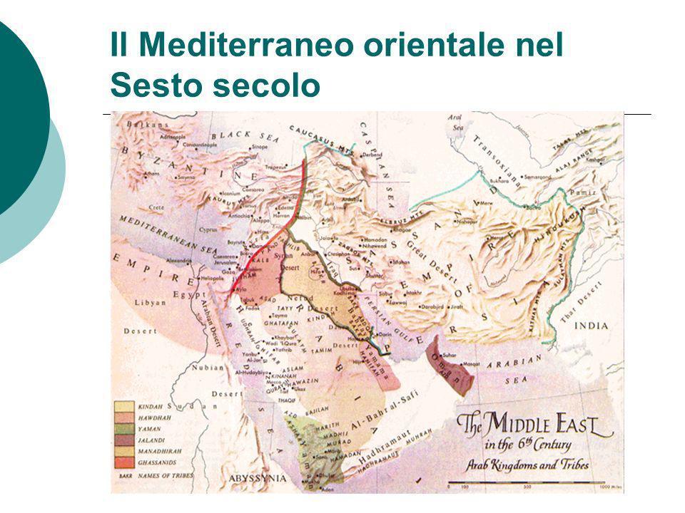 Il Mediterraneo orientale nel Sesto secolo