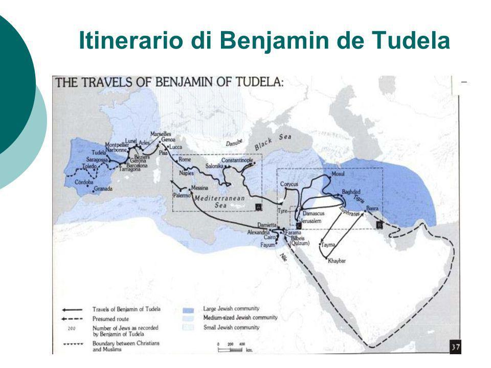 Itinerario di Benjamin de Tudela