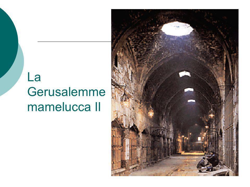 La Gerusalemme mamelucca II