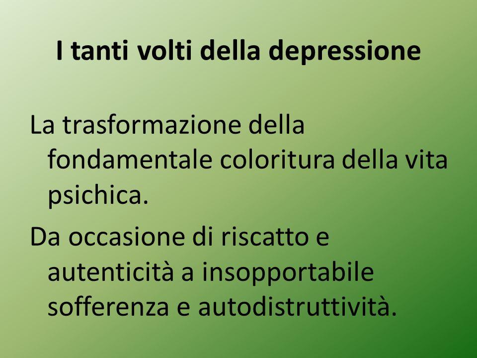 I tanti volti della depressione