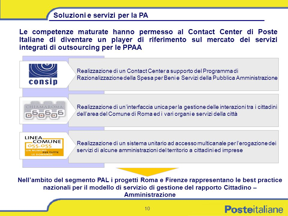 Soluzioni e servizi per la PA