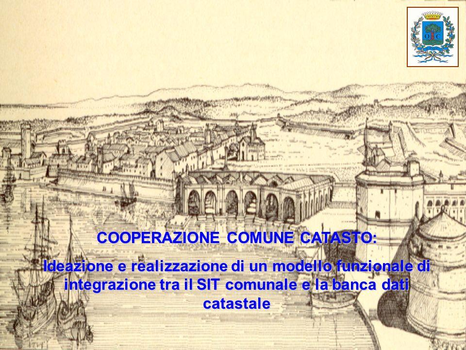 COOPERAZIONE COMUNE CATASTO: