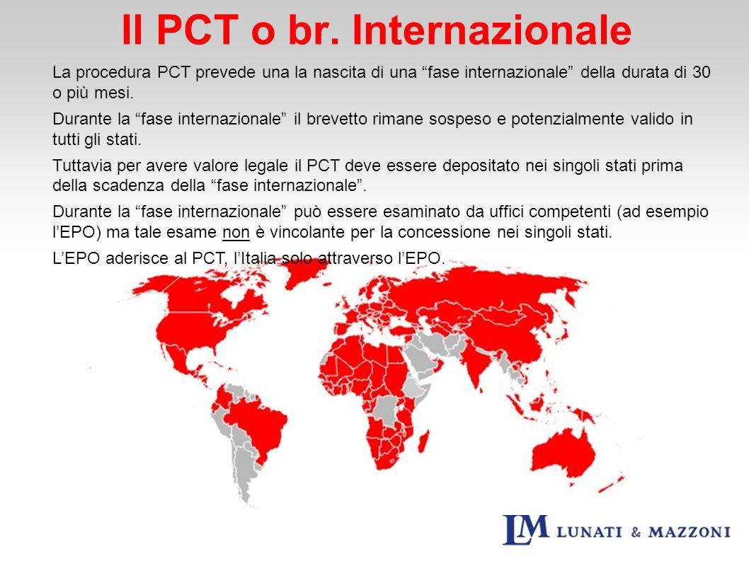 Il PCT o br. Internazionale