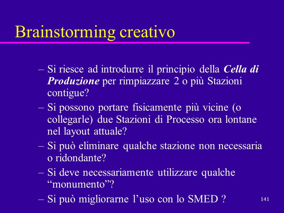Brainstorming creativo