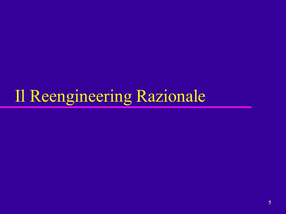 Il Reengineering Razionale