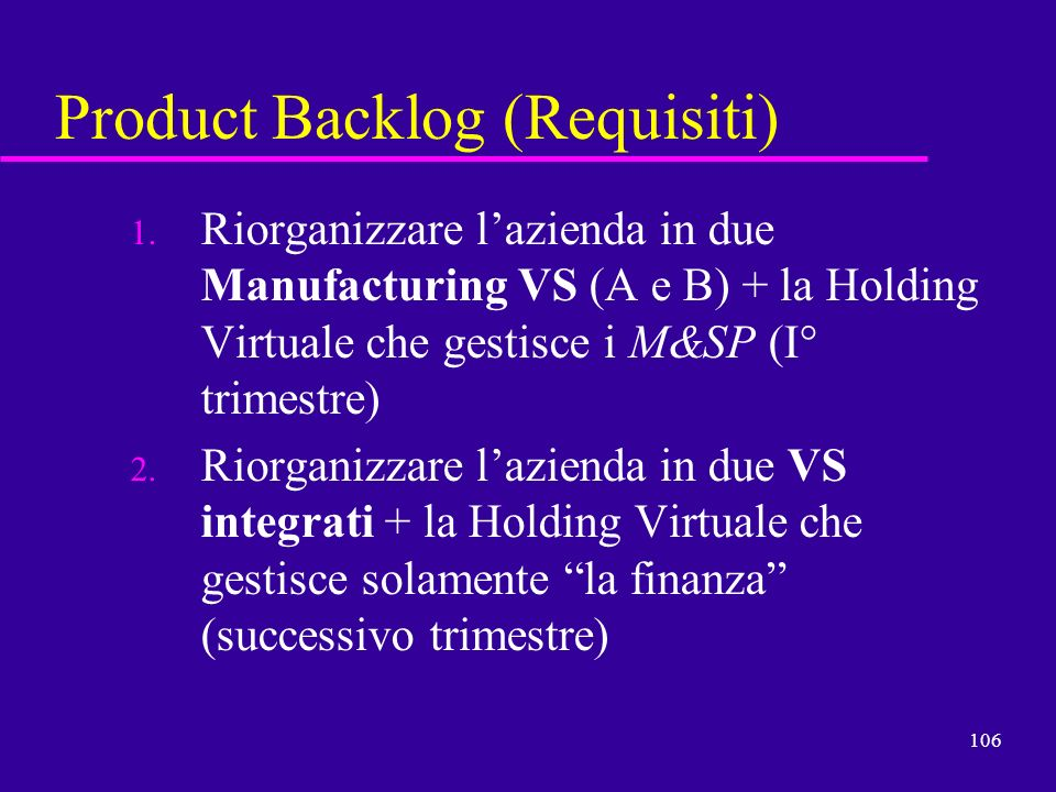 Product Backlog (Requisiti)