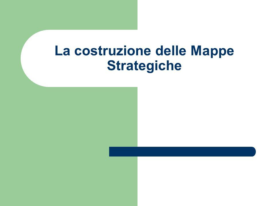 La costruzione delle Mappe Strategiche