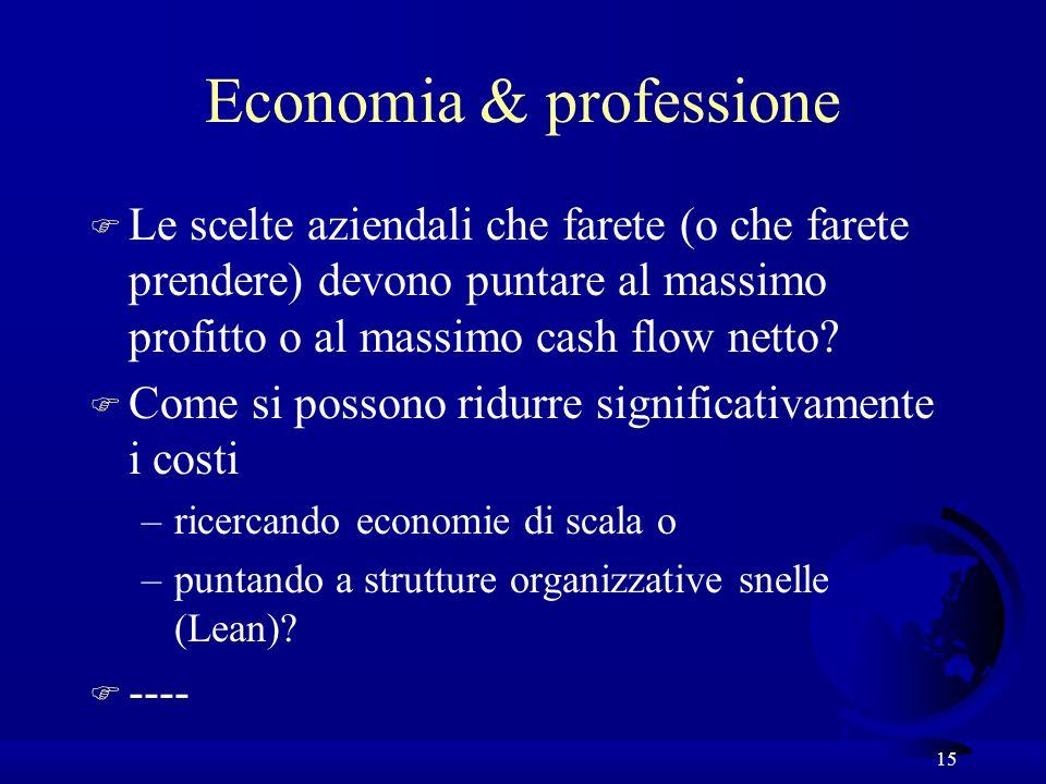 Economia & professione