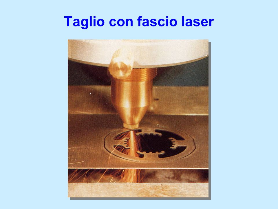Taglio con fascio laser
