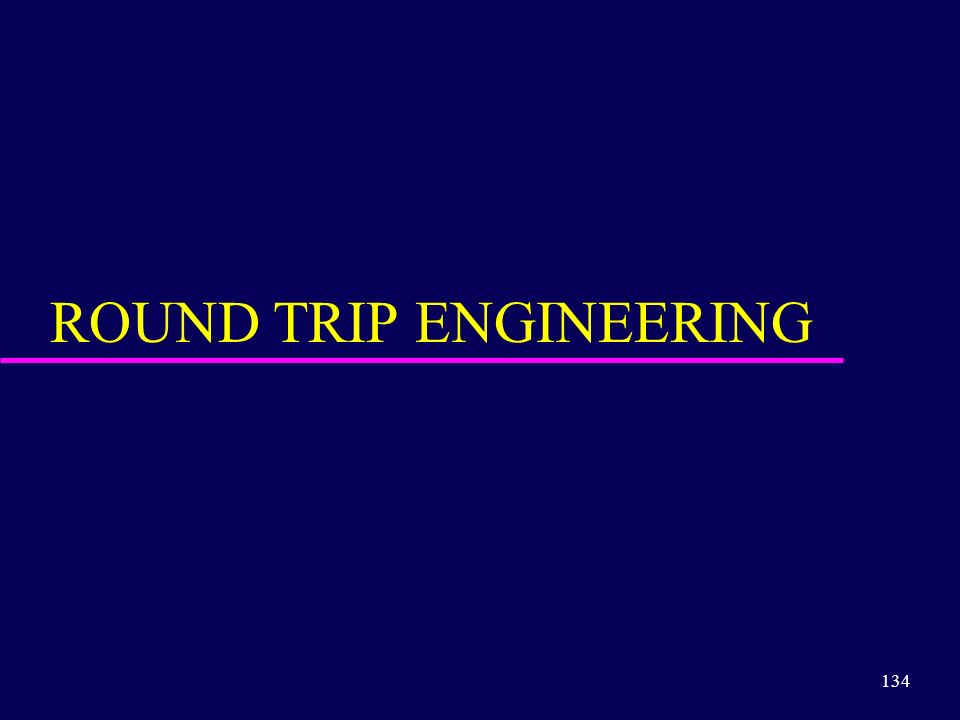 ROUND TRIP ENGINEERING