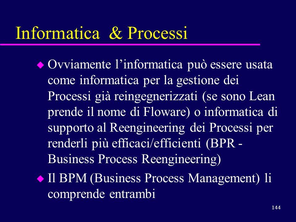 Informatica & Processi