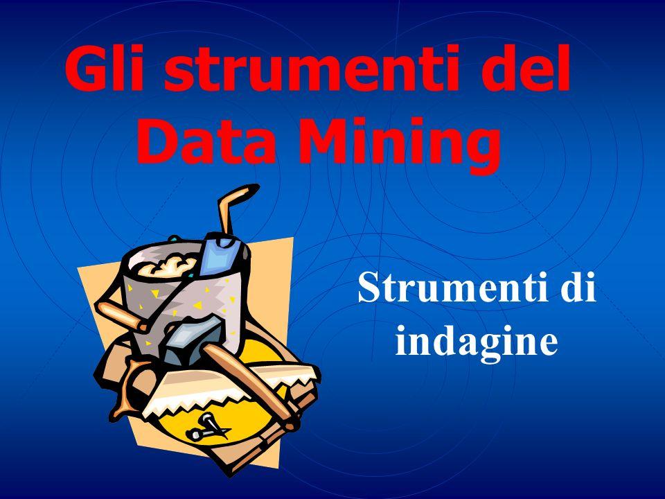 Gli strumenti del Data Mining