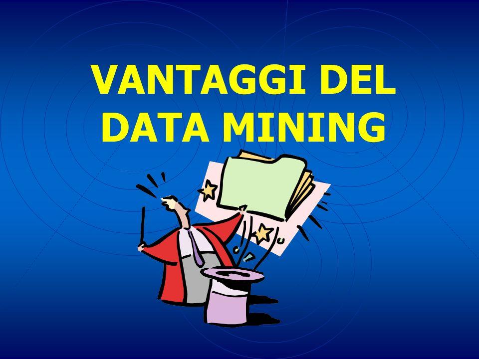 VANTAGGI DEL DATA MINING