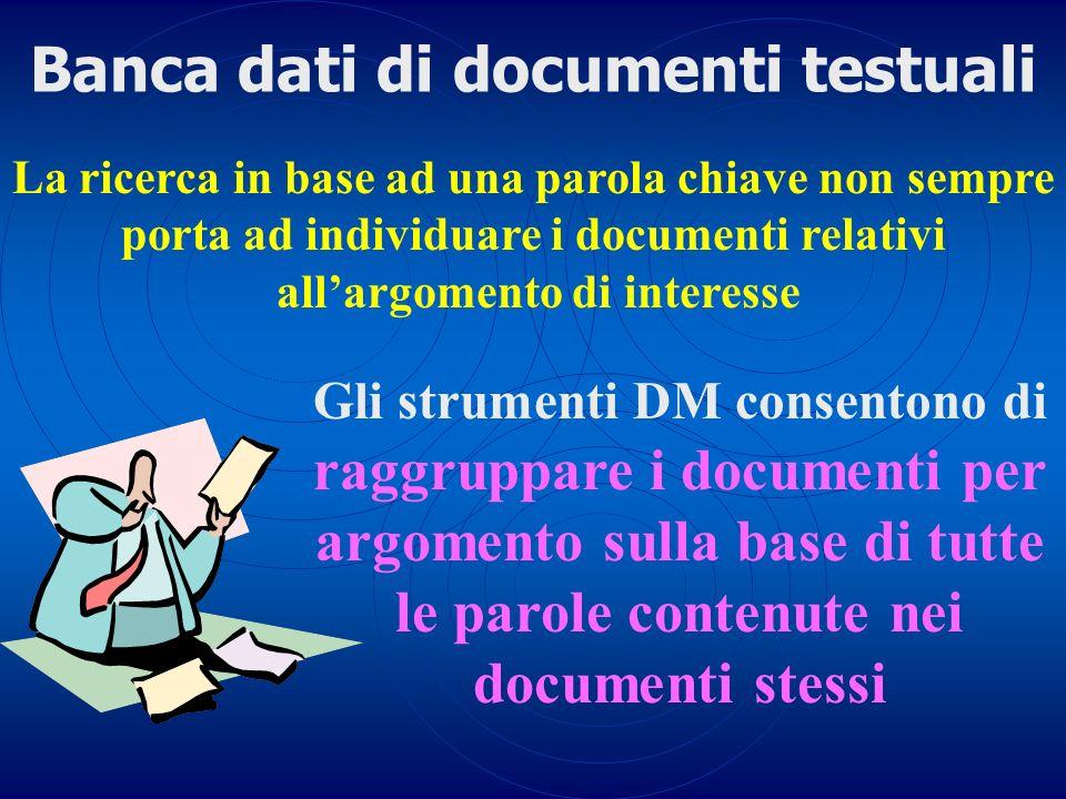 Banca dati di documenti testuali