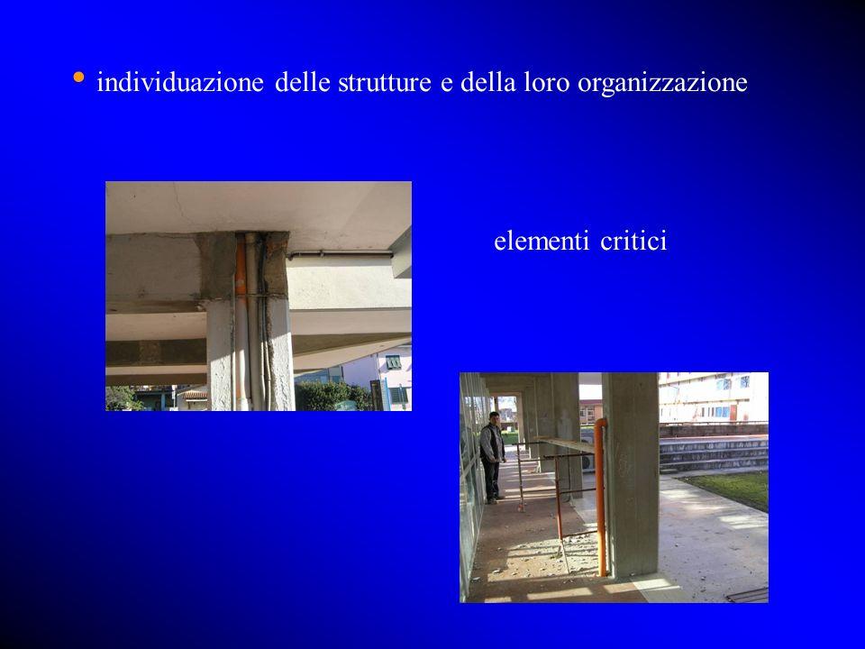 individuazione delle strutture e della loro organizzazione