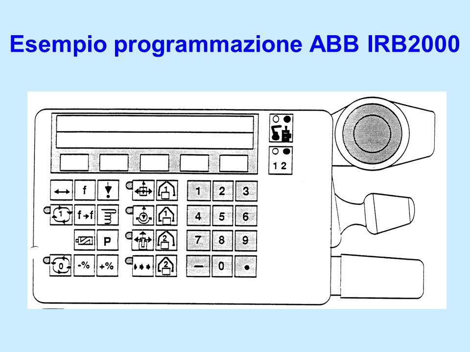 Esempio programmazione ABB IRB2000