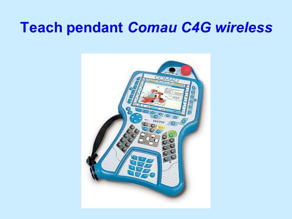 Teach pendant Comau C4G wireless