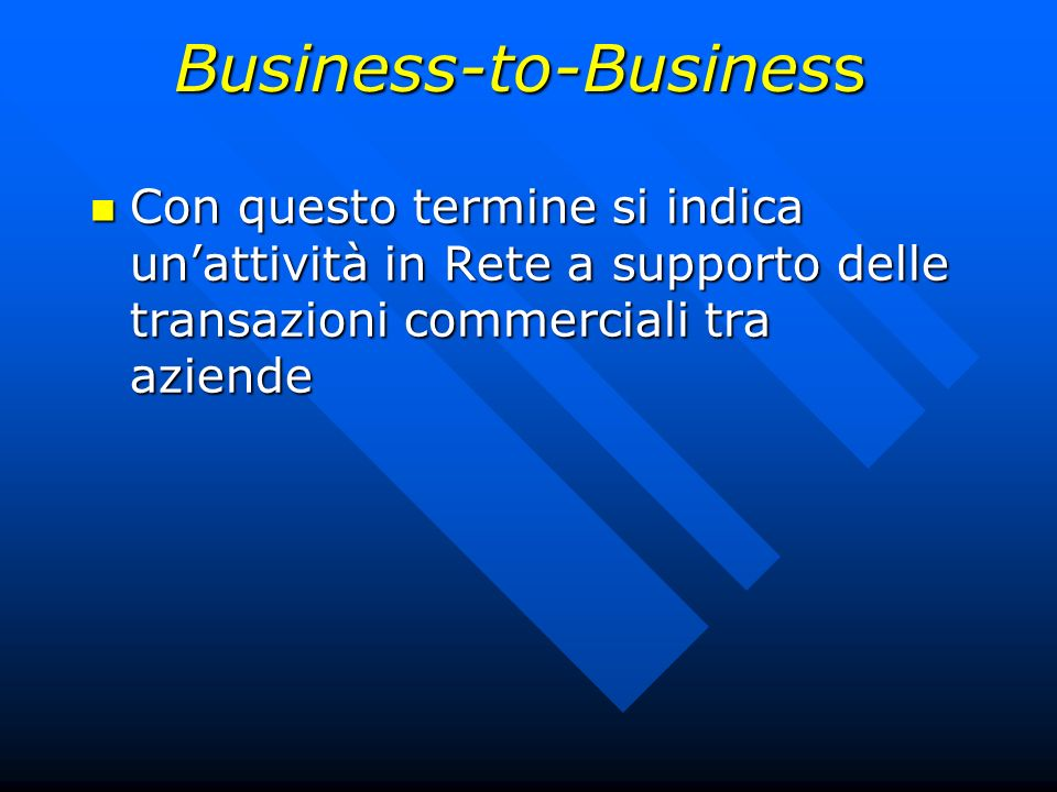 Business-to-Business