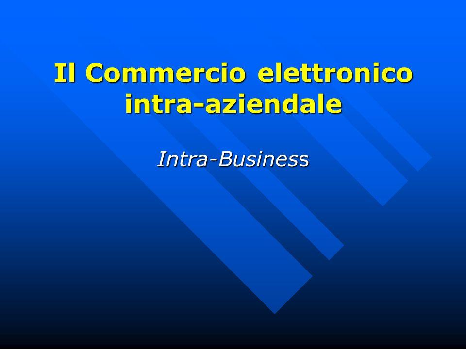 Il Commercio elettronico intra-aziendale