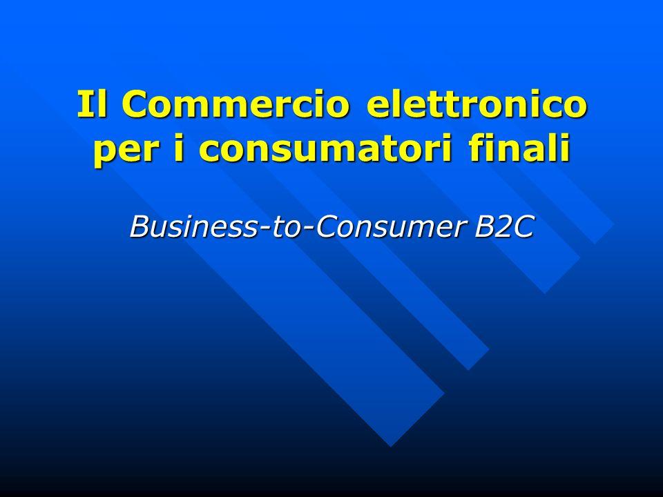 Il Commercio elettronico per i consumatori finali
