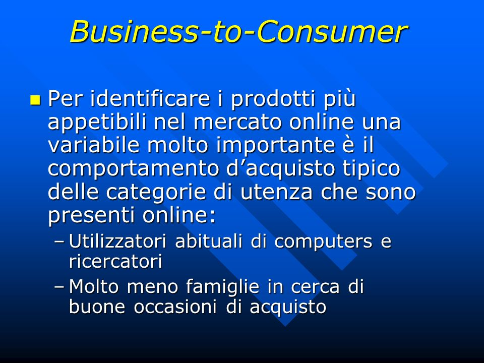 Business-to-Consumer