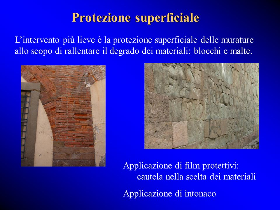 Protezione superficiale