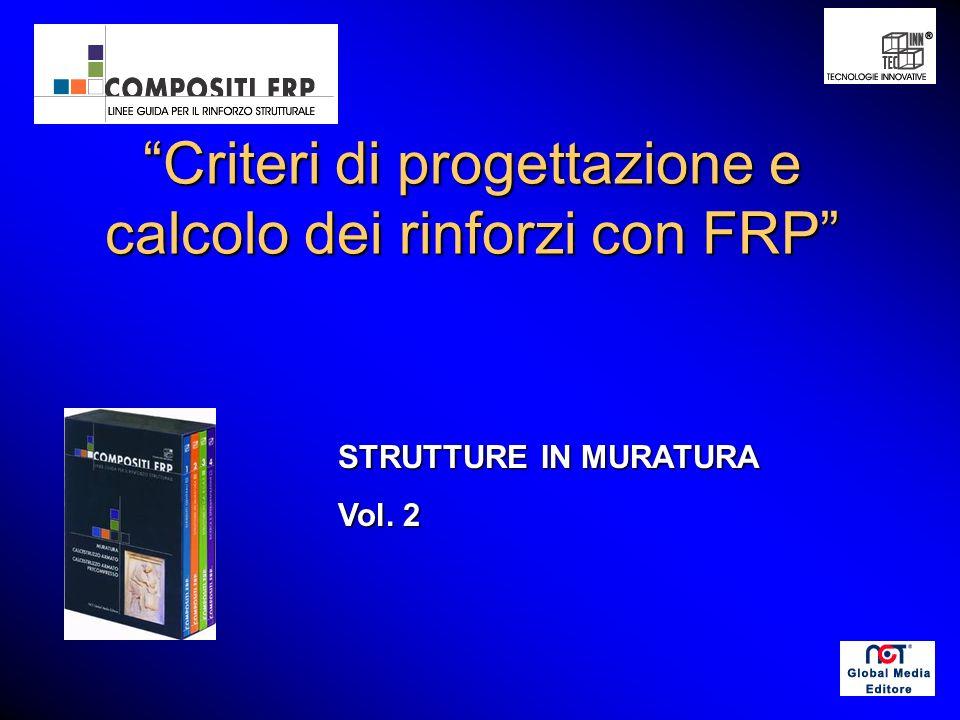 Criteri di progettazione e calcolo dei rinforzi con FRP