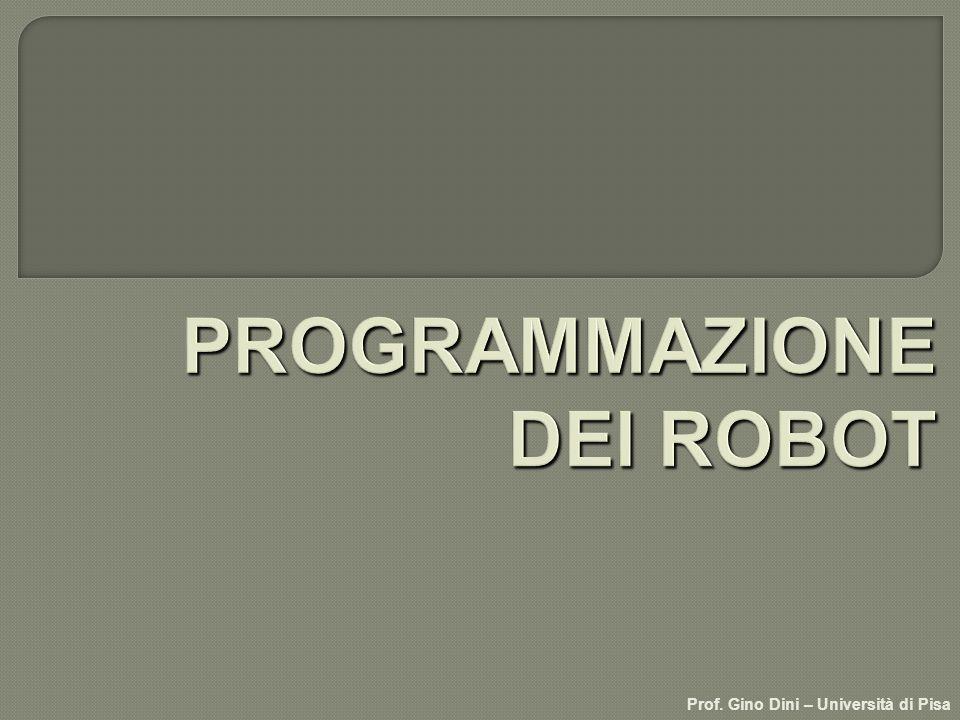 PROGRAMMAZIONE DEI ROBOT