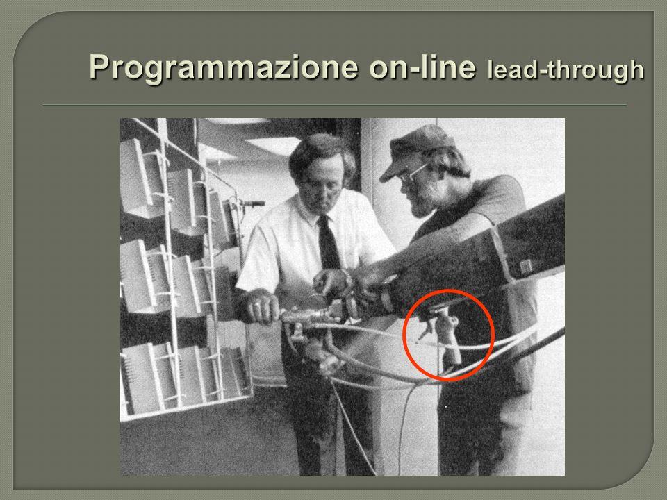 Programmazione on-line lead-through
