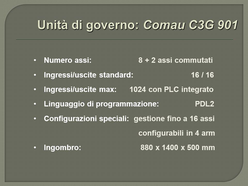 Unità di governo: Comau C3G 901