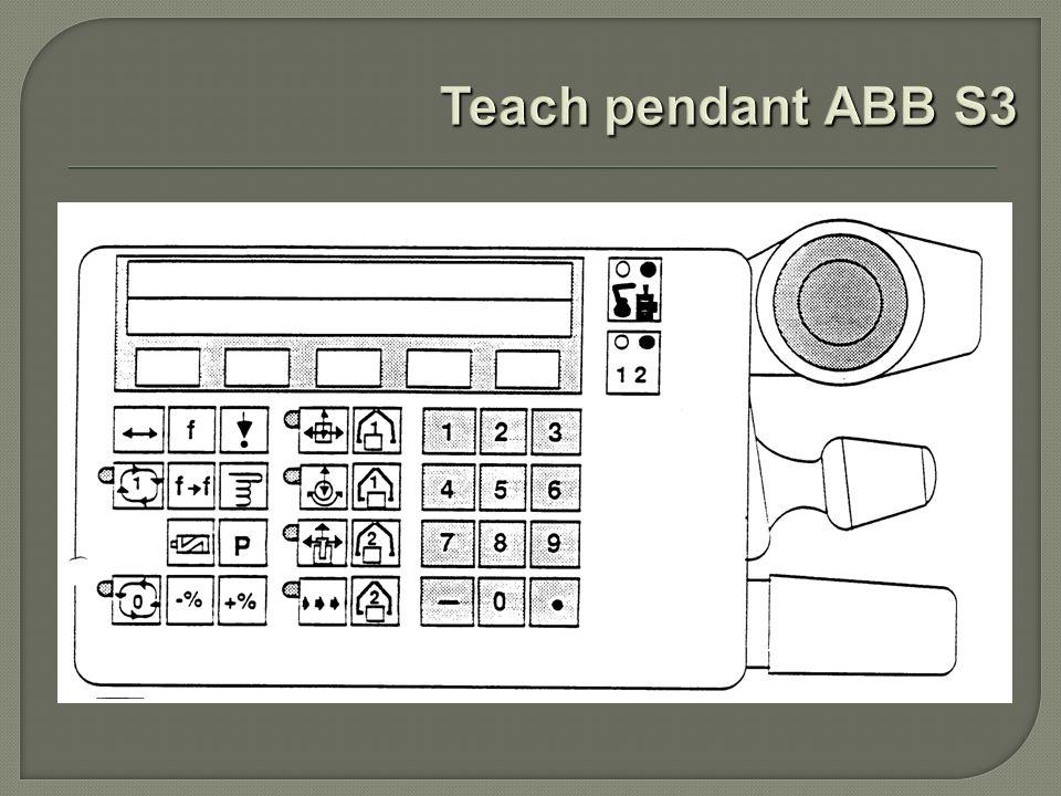 Teach pendant ABB S3