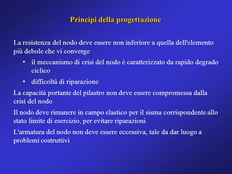 Principi della progettazione