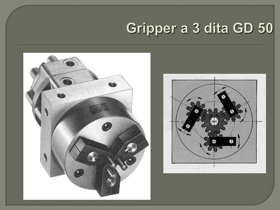 Gripper a 3 dita GD 50