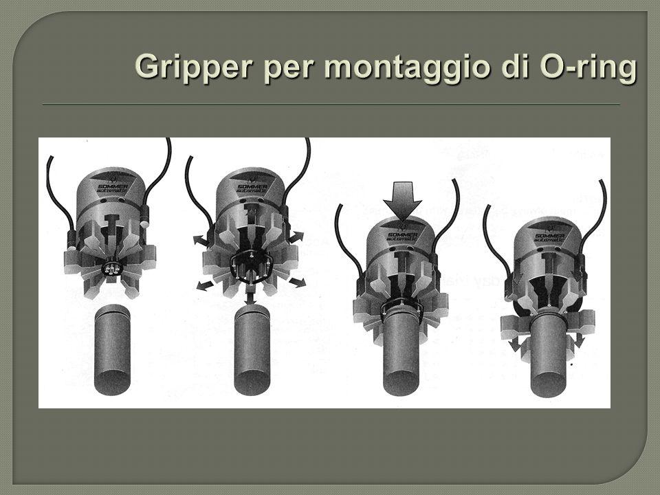 Gripper per montaggio di O-ring