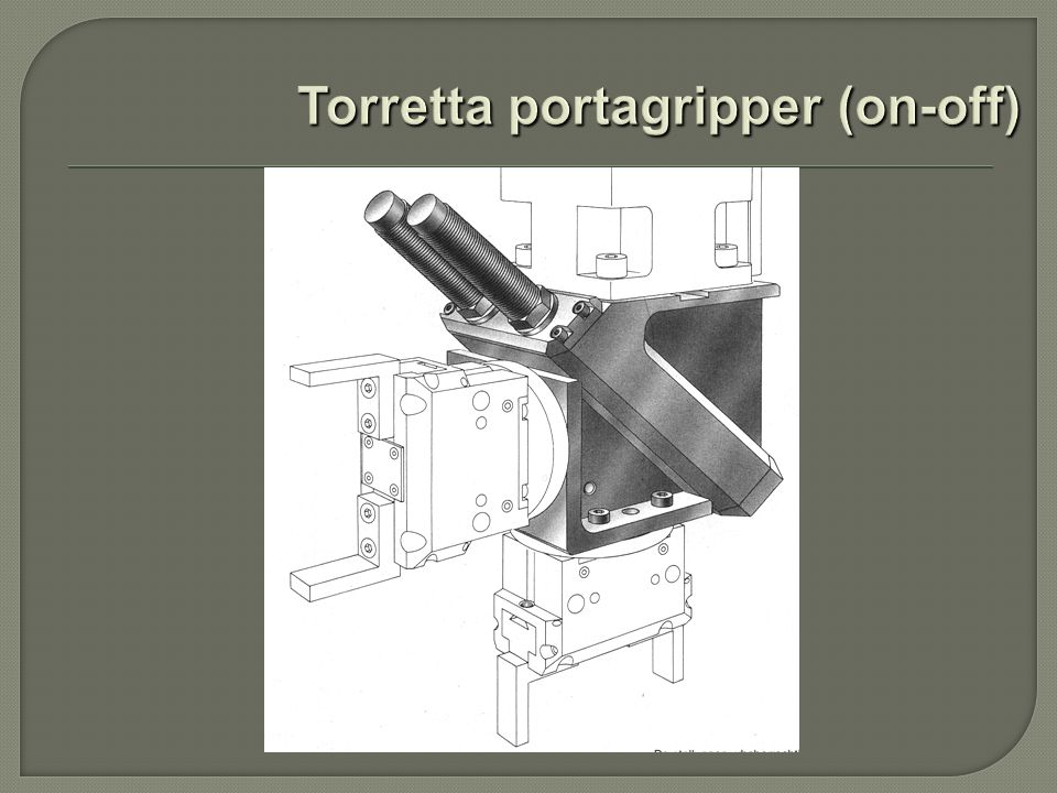 Torretta portagripper (on-off)