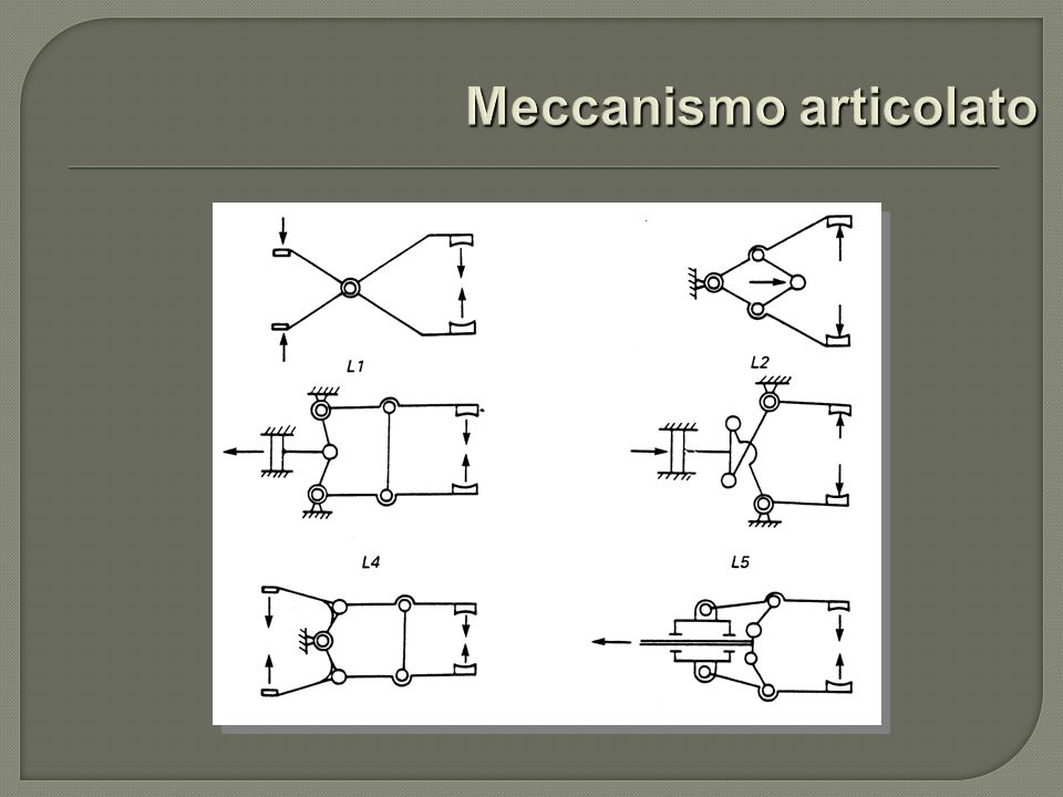 Meccanismo articolato
