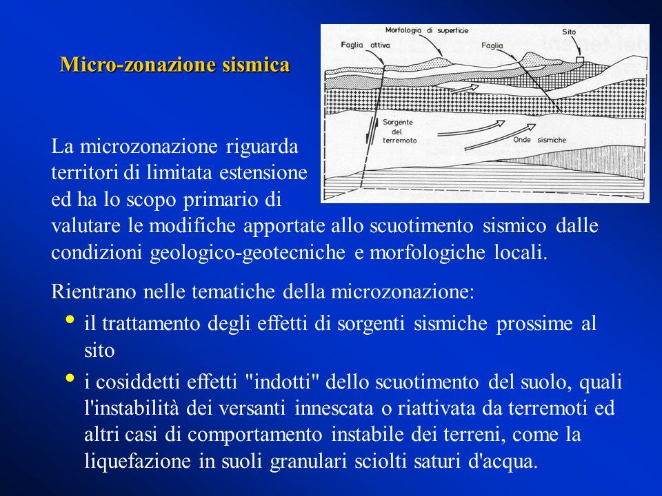 Micro-zonazione sismica